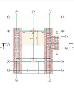 план мансарного этажа деревянного дома