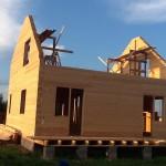 я построил родной дом