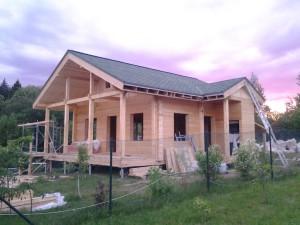 строительство деревянных домов в МО