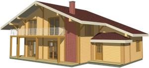 дом в евро стиле