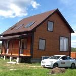 мой дом с мансардными окнами Velux