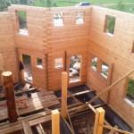 строительство дома из утепленного бруса