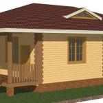 Реалистичная 3 D модель дома бесплатно