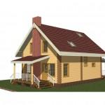 бесплатная модель жилого дома