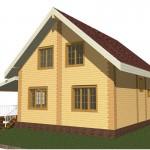 3Д модель дома даром