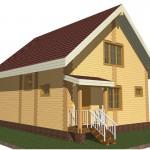 3 d модель дома