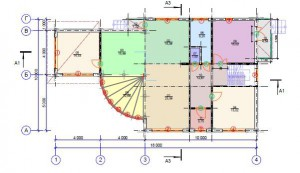 Vip дом планировка