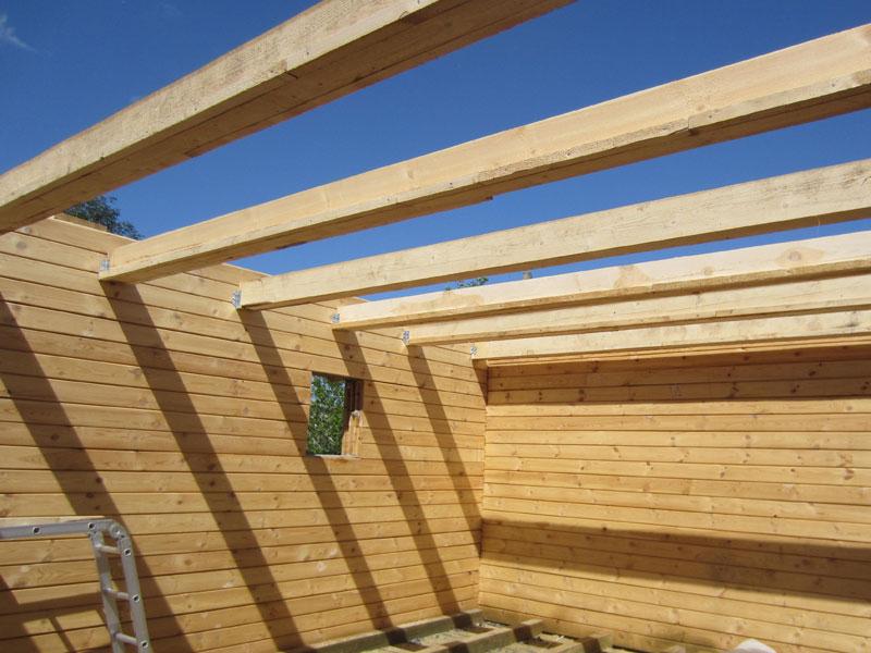 Как сделать межэтажное перекрытие из дерева в доме