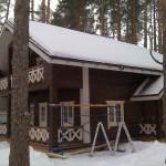 деревянный эко дом