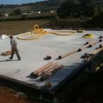 Фундамент для пассивного дома по технологии LOGECO г. Тулуза Франция