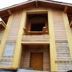 деревянные дома в Европе