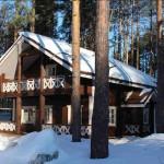 дом в лесу LogECO
