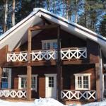 лучший проект деревянного дома