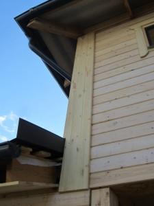 защита углов в деревянном доме