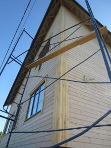 отделка фасада дома не требуется