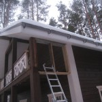 установка ограждений на террасу и балкон цена за м.п. 4000 руб