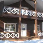 ЭКО дом деревянный из утепленного бруса
