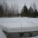 фундамент после зимы