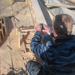 строительство - разметка бруса