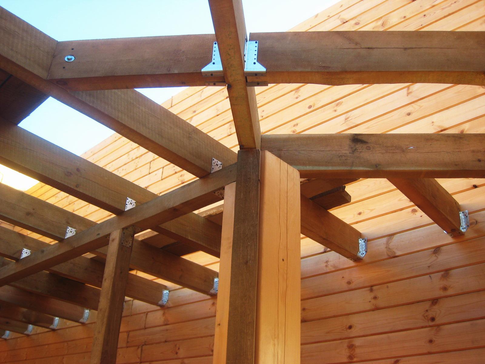 Как сделать деревянный каркас для перегородки