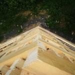 угол дома высота 12 метров
