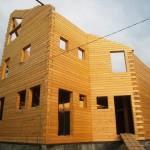 домик из клееного бруса 500 кв.м.