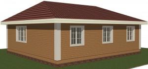дом за 1000000 проект