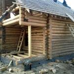 строительство дома крыльцо