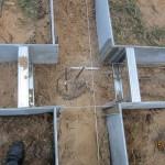 столб диаметр 200мм на глубину 1700 мм