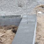 Вывод шпильки для крепления коробки из бруса LOGECO