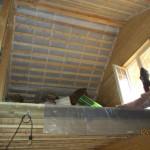 обрешетка и пароизоляция потолка