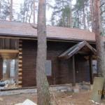 цвет деревянного дома