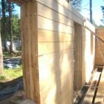 стены из дерева