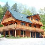 дом из бревна 2009 г.