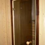 банная дверь стекло