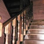 Лестница стандартная двухмаршевая П образная