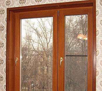 деревянное евроокно