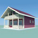 Проект дома 8
