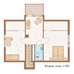 проект второго этажа 2