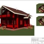 проект дома 3 Д