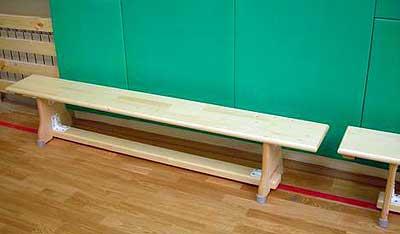 спортивный инвентарь: скамья гимнастическая