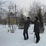 Общее внешнее обследование здания тепловизионная съемка