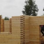 тестовая сборка дома на производстве г Рыбинск