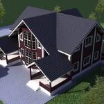 проекты домов и коттеджей